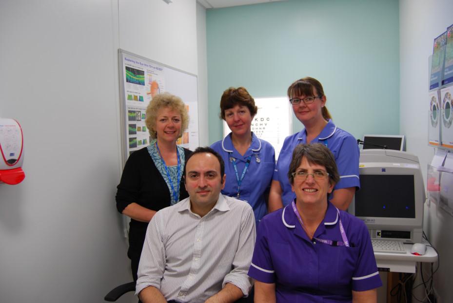 Sight saving treatment at Dowling Ward
